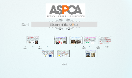 History of the ASPCA
