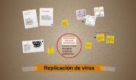 Replicación de virus