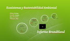 Ecosistemas y Sustentabilidad Ambiental