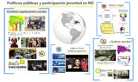 Políticas Públicas y espacios de participación juvenil en RD