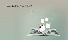 Analysis of The Pura Principle