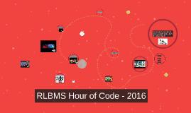 Hour of Code - 2016