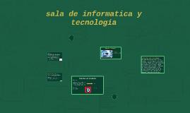 sala de informatica y tecnologia
