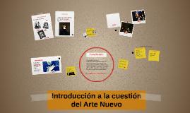 Introducción a la cuestion del Arte Nuevo