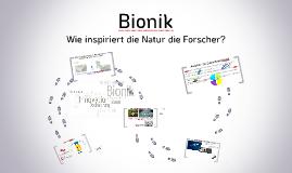 Bionik : Wie die Natur die Forscher inspiriert?