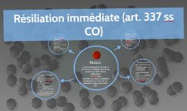 DTA.2015.8.Résiliation immédiate (art. 337 ss CO)