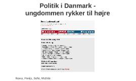 Politik i Danmark - ungdommen rykker til højre