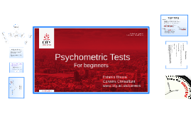 Intro to Psychometric Tests