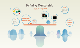 Defining Mentorship