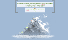 [Backup] Financial Literacy Challenges and Socio-economic Empowerment