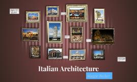 Italian Art & Architecture