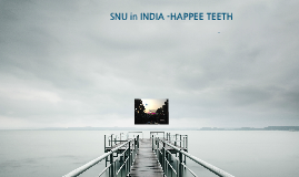 Copy of SNU in INDIA proposal by HAPPEE TEETH