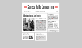 A Declaration of Sentiments
