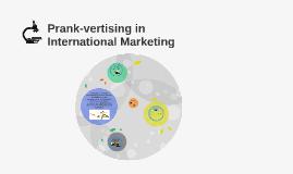 What is prankvertising?