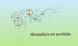 Alexandra's art portfolio