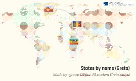 States by name (Greta)