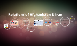 Relations of Afghanistan & Iran