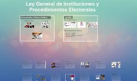 Ley General de Instituciones y