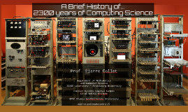 A 2300 years history of computing