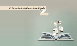 El Renacimiento literario