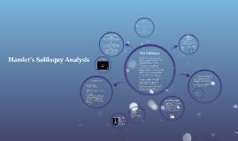 Hamlet's Soliloquy Analysis