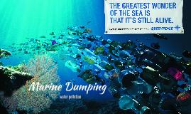 marine dumping