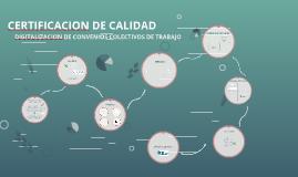 A. CERTIFICACION DE CALIDAD