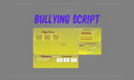 Bullying Script