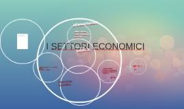 I SETTORI ECONOMICI