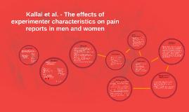 Reporting of Pain - Kállai et al.