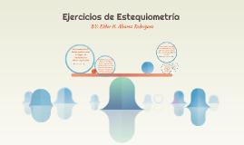 Ejercicios de Estequiometría