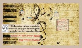 Pedagogía y cultura valenciana: