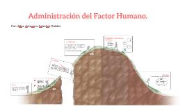 Administración del Factor Humano.