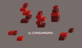 IL CONSUMISMO