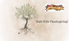 Math With Thanksgiving!