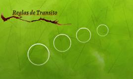 Reglas de Transito