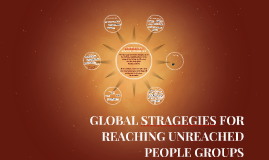 Global Strategies for Reaching Unreached People Groups
