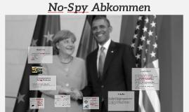 No-Spy Abkommen