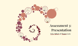 Assessment 3: Presentation
