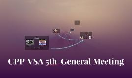 CPP  VSA 5th  General Meeting