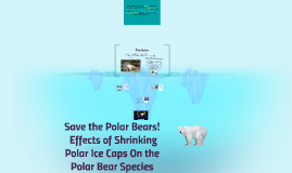 Effects of Shrinking Polar Ice Caps on the Polar Bear
