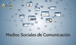 Medios Sociales de Comunicación