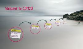 Welcome to COM20!