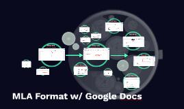 How-To: MLA Format w/Google Docs