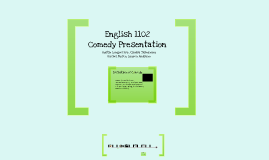 English Comedy Presentation