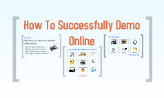 How To Successfully Demo Online