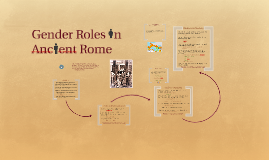 ancient greece and rome gender roles Women/gender world war i  of primary documents on the role of women in the ancient world  statement on the lives of women in ancient greece and rome.