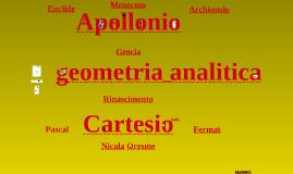 Storia della geometria analitica