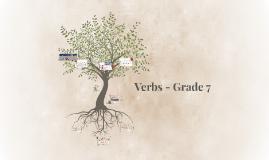 Verbs - Grade 7