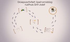 Groepsactiviteit: Spelnamiddag rusthuis Sint-Jozef